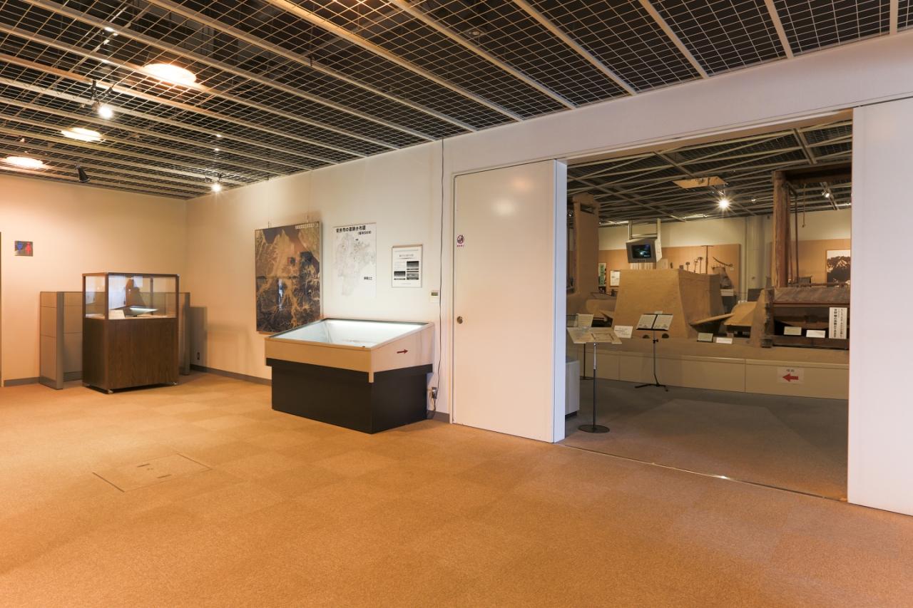 第1展示室 前室の主な展示品の紹介